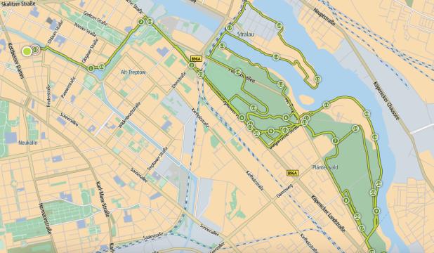 Langer Morgenlauf, 36 Kilometer