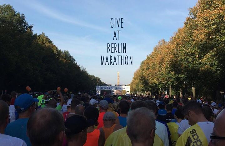 Give at Berlin Marathon